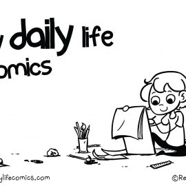 my daily life comics illustratie